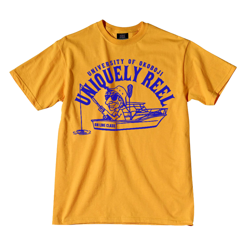 Uniquely Reel Fishing Tee