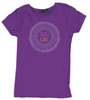 "Girls Bi-Blend ""Boji Girl"" Soft Tee - Purple"