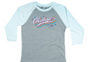 Girls Bi-Blend Retro Baseball Tee - Coolmint