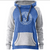Women's Horizon Hood Rope Crest - Electric Blue