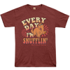 Okoboji Snufflin' Tee - HEATHER BURGUNDY