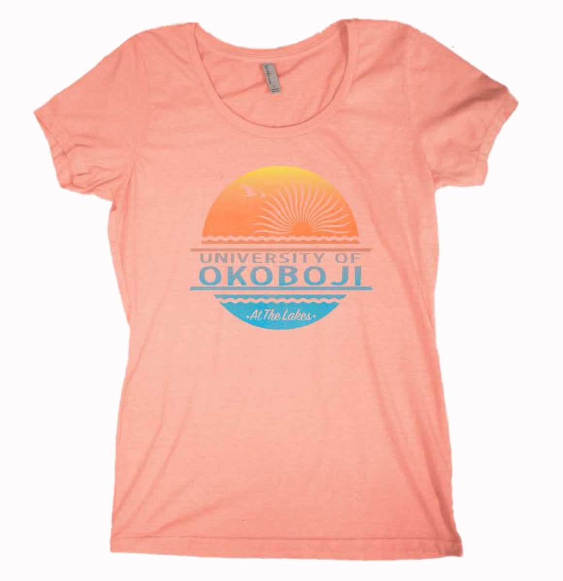 """At the Lakes"" Sunset Ladies Tee"