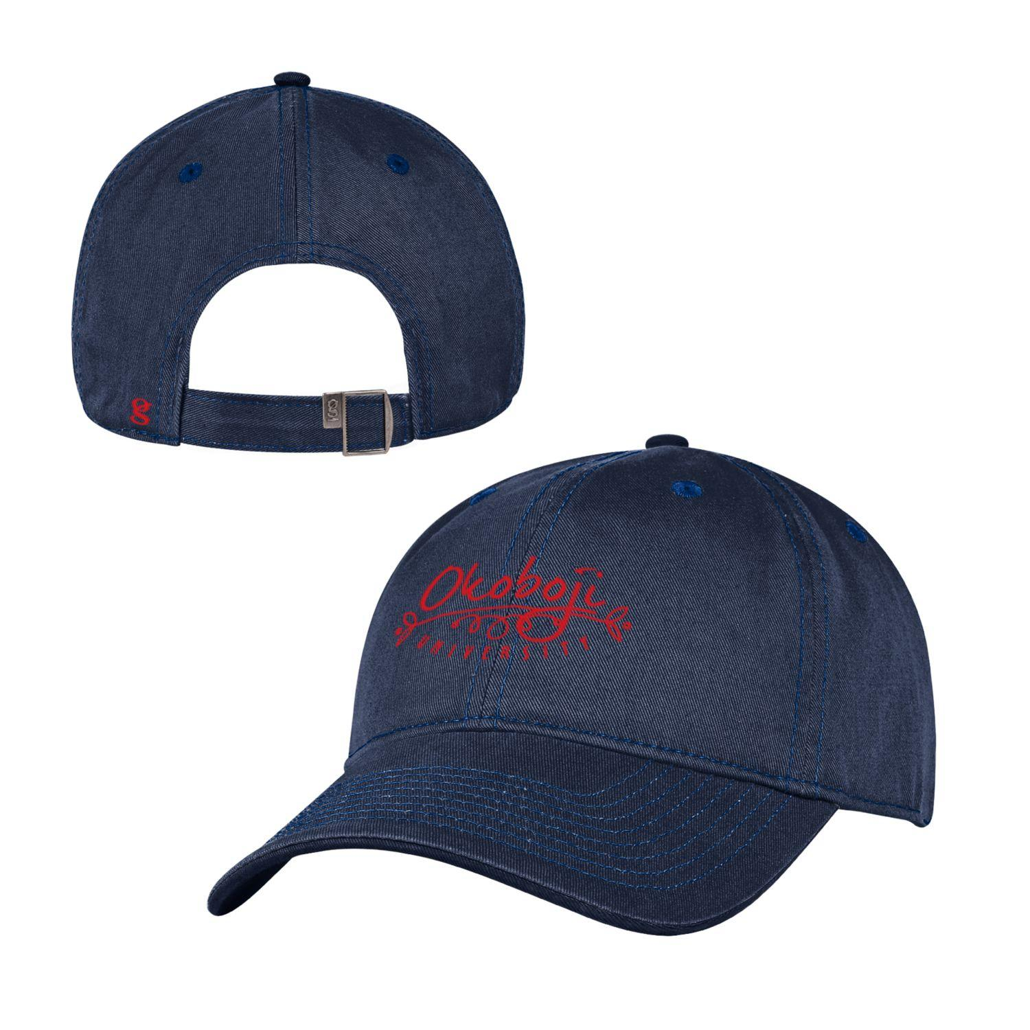 Women's Navy Adjustable Hat