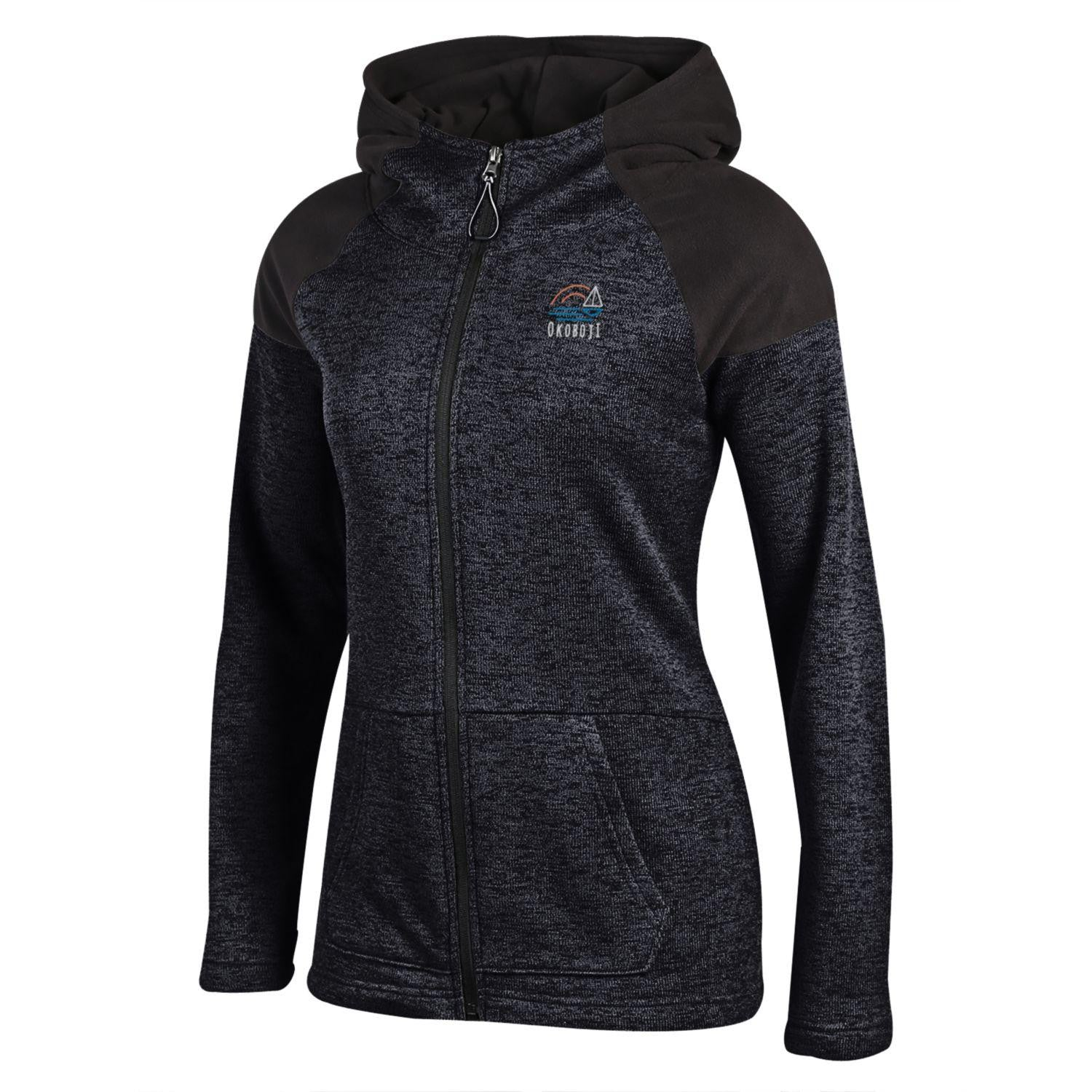 Women's Cross Country Full Zip - Black