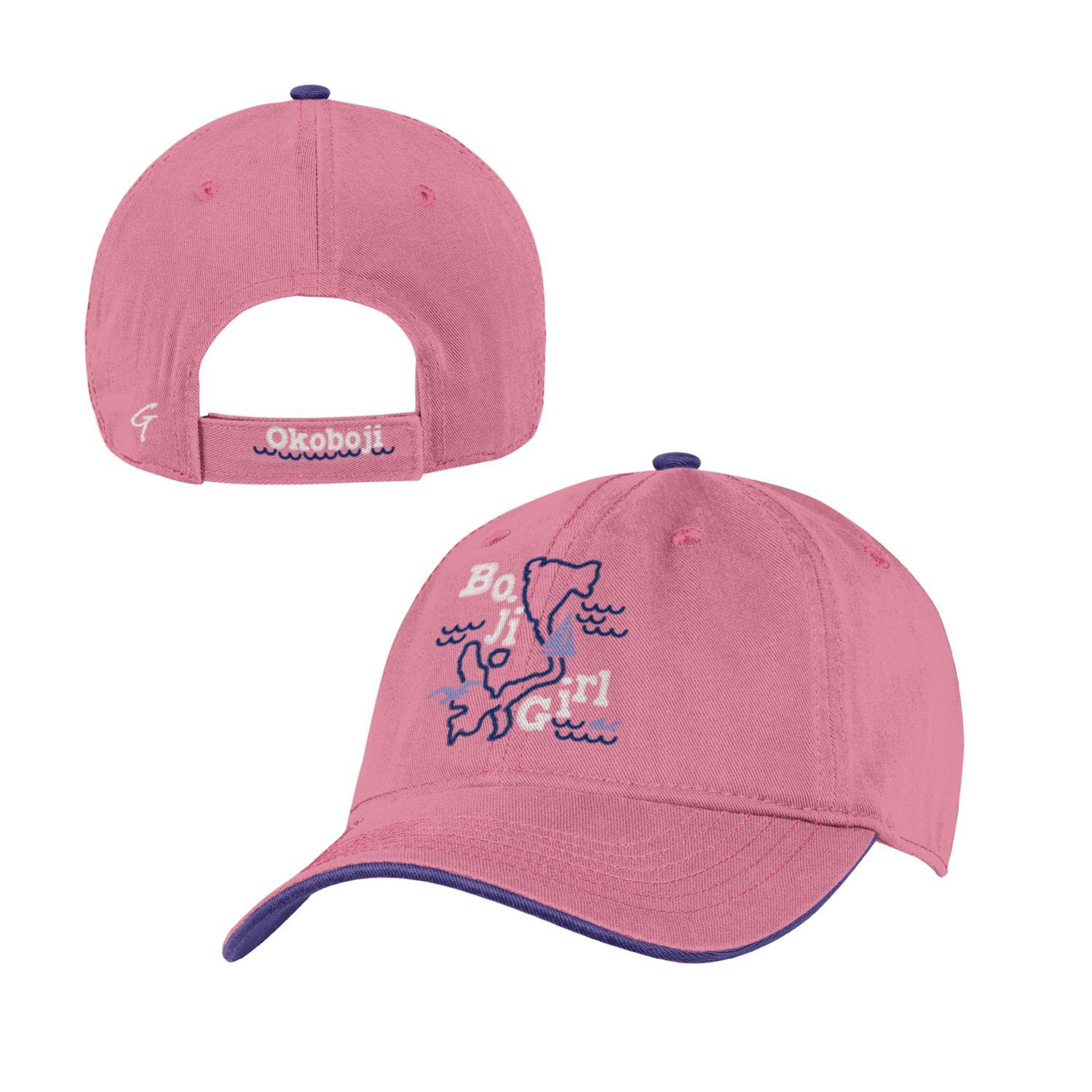 Boji Girl YOUTH PIGMENT DYED TRUCKER