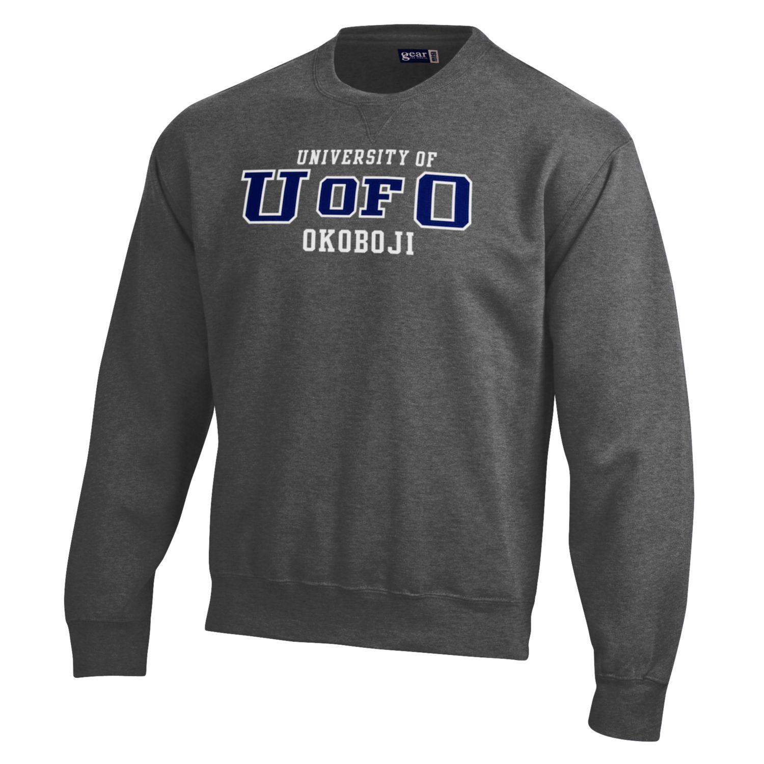 U of O - BIG Cotton Crew - Charcoal