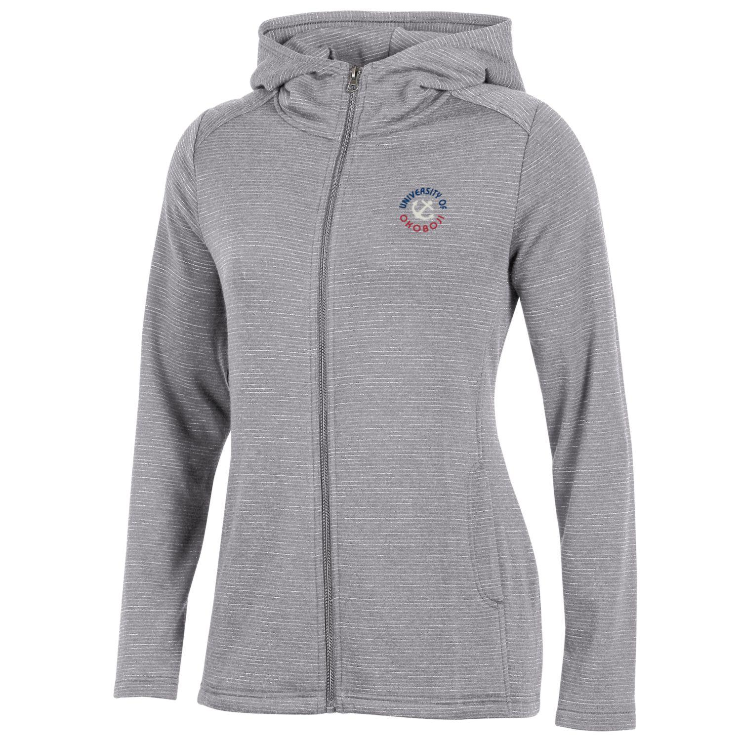 Women's Evolve Full Zip - Oxford Heather