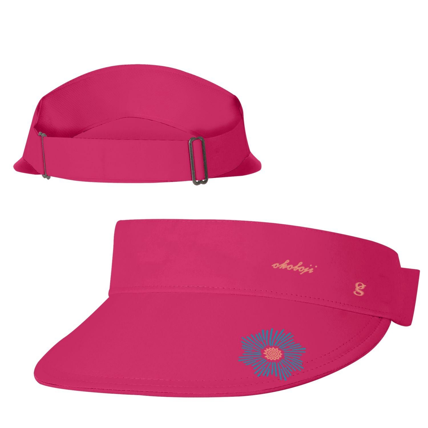 Women's Okoboji Cool Gear Visor - Dark Watermelon