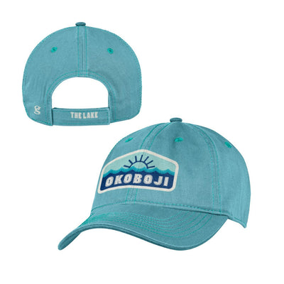 OKOBOJI Garment Washed Youth Cap - Harbor color