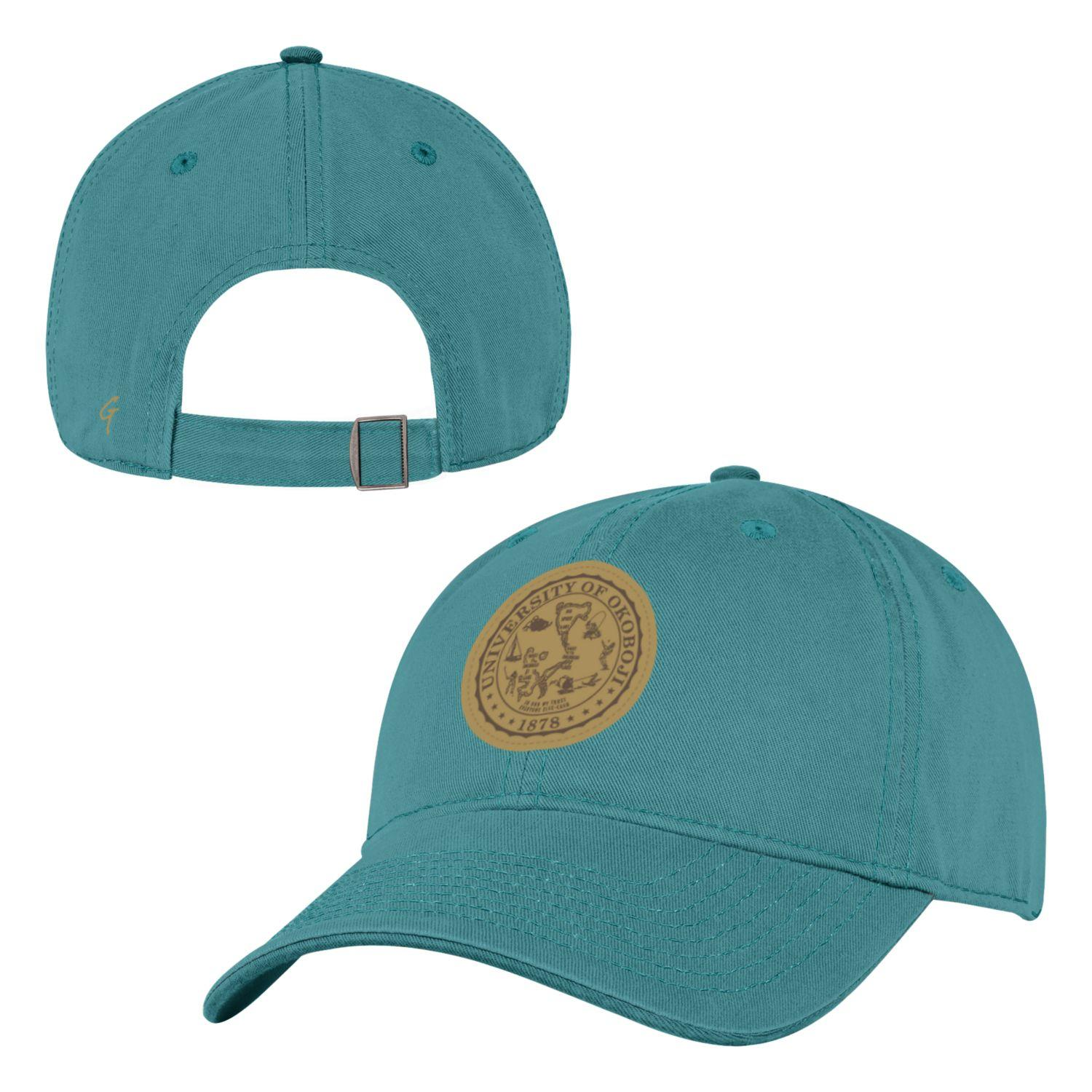 University of Okoboji Patch Cap - Aqua