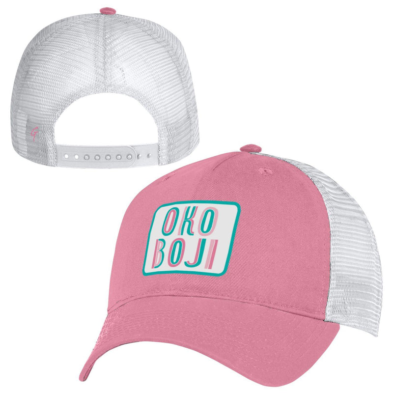 OKOBOJI FIVE PANEL NOVELTY TRUCKER