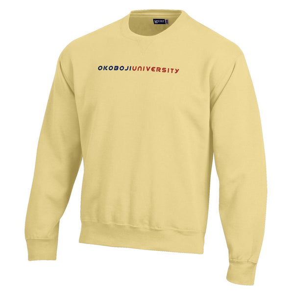 Classic BIG Cotton Sweatshirt - Butter Yellow