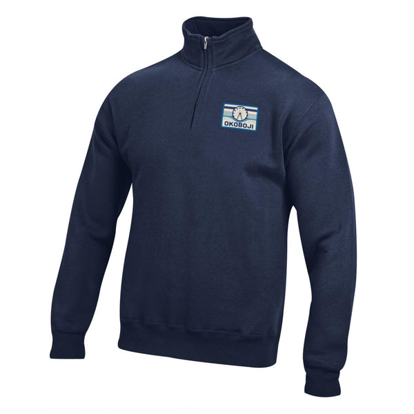 Skyline Marine Navy Big Cotton Okoboji 1/4 Zip