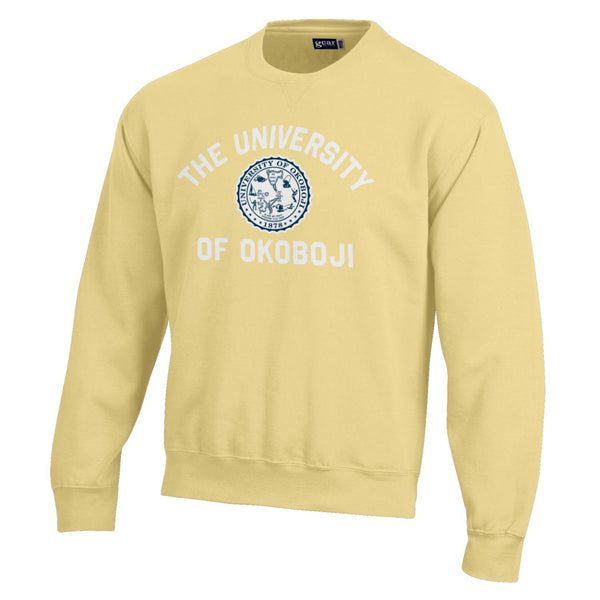 Standard Issue BIG Cotton Okoboji Crew-Butter Yellow