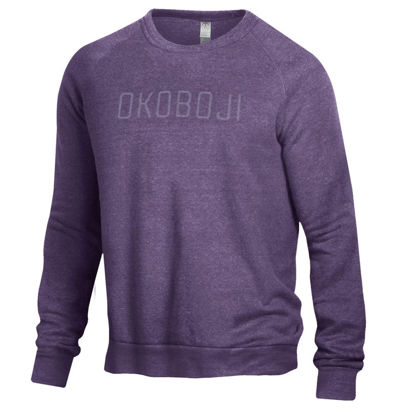 "Purple Okoboji Embroidery ""The Champ""  (SLIM FIT / UNISEX)"