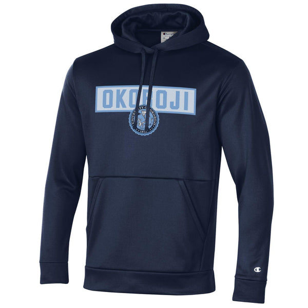OKOBOJI MEN'S FIELD DAY PULL OVER HOOD - NAVY