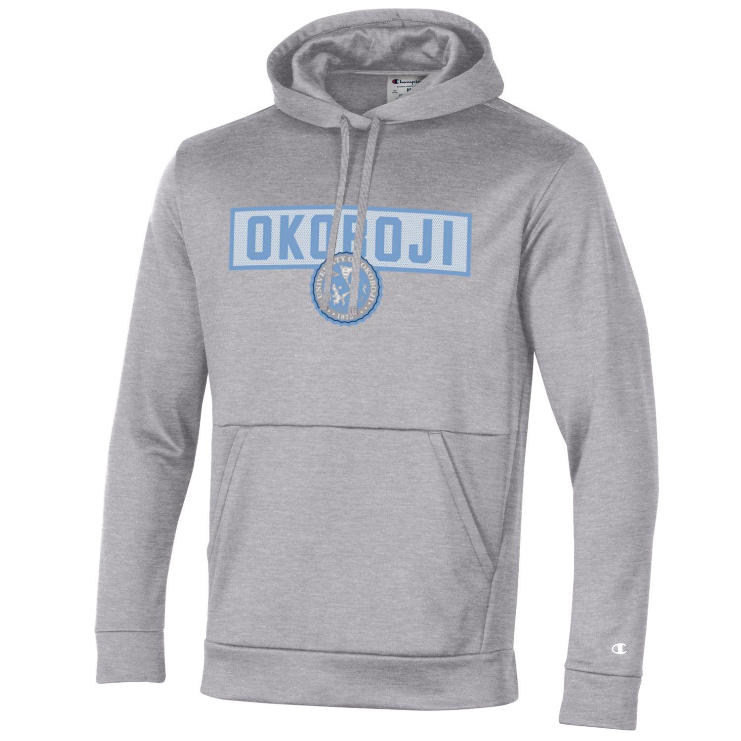 OKOBOJI MEN'S FIELD DAY PULL OVER HOOD - OXFORD HEATHER