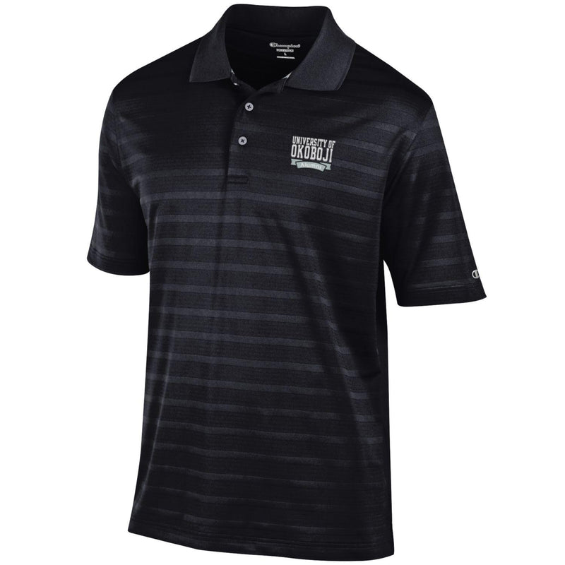 U of Okoboji Alumni Polo - Black