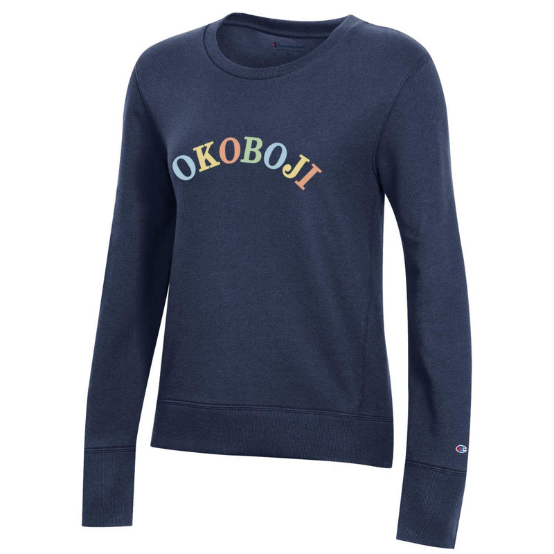 Women's Okoboji 2.0 Fleece Crew - Navy