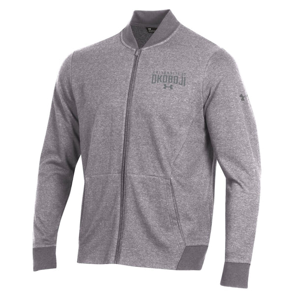 Okoboji Sportstyle Fleece Bomber - True Grey Heather