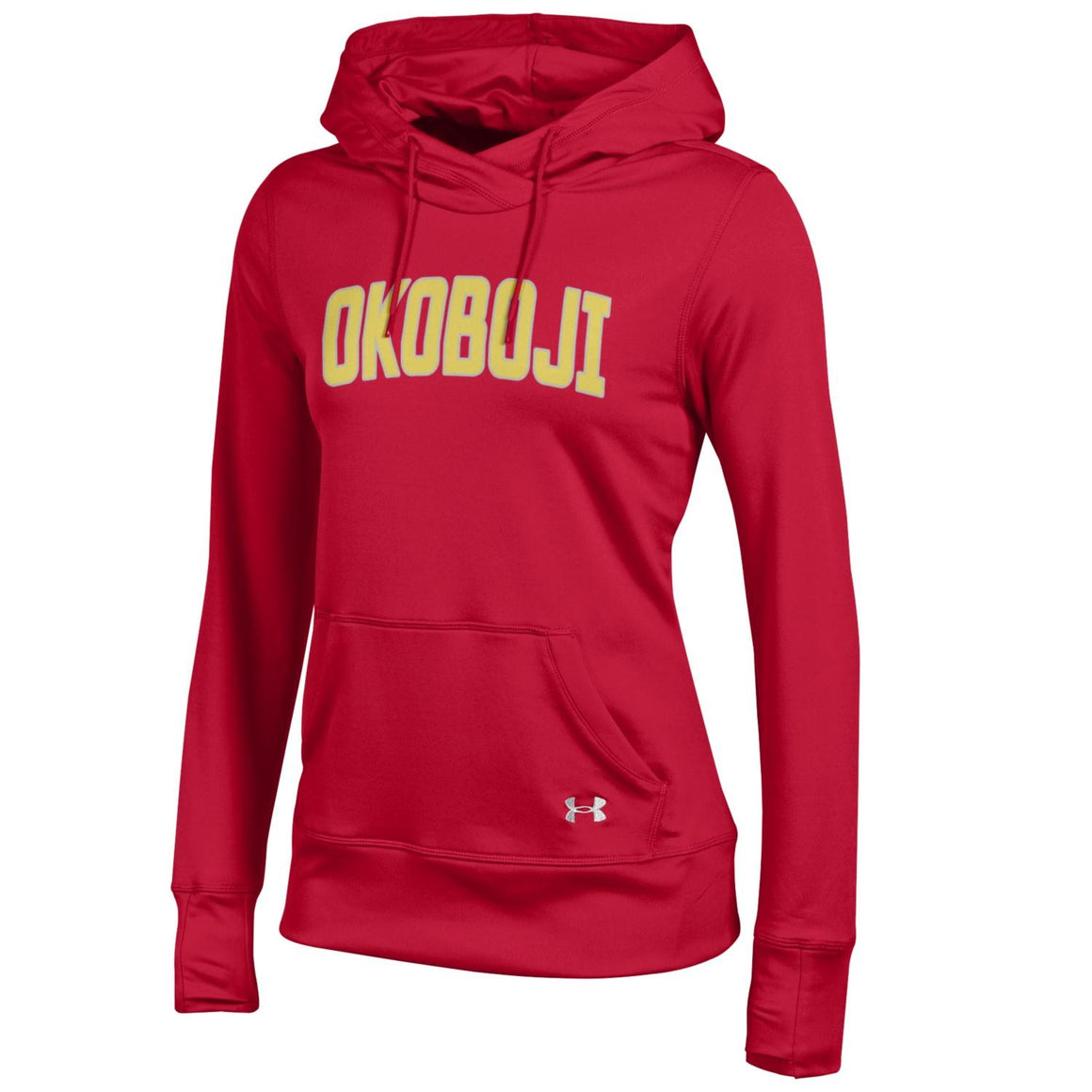 Ladies Reflective Okoboji Under Armour Hoodie - Red