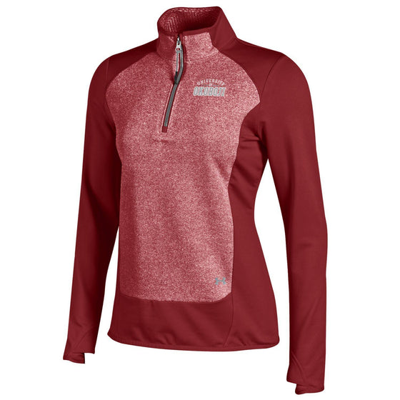 Ladies Under Armour Eclipse Microfleece - Cardinal