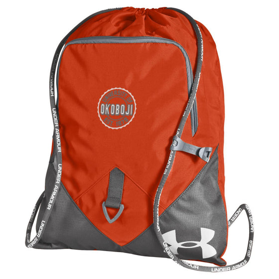 Under Armour University of Okoboji Undeniable Sackpack - Dark Orange