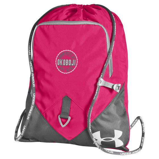 Under Armour University of Okoboji Undeniable Sackpack - Pinkadelic