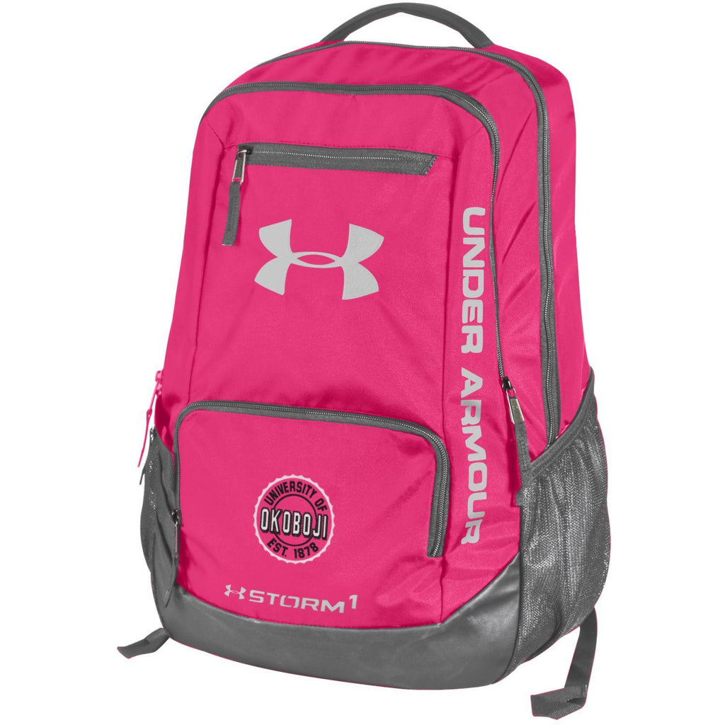 Under Armour University of Okoboji Hustle II Backpack - Pinkadelic