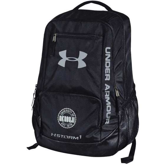 Under Armour University of Okoboji Hustle II Backpack - Black