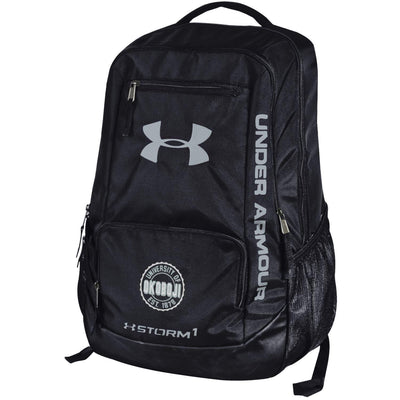 Under Armour University of Okoboji Hustle Backpack - Black