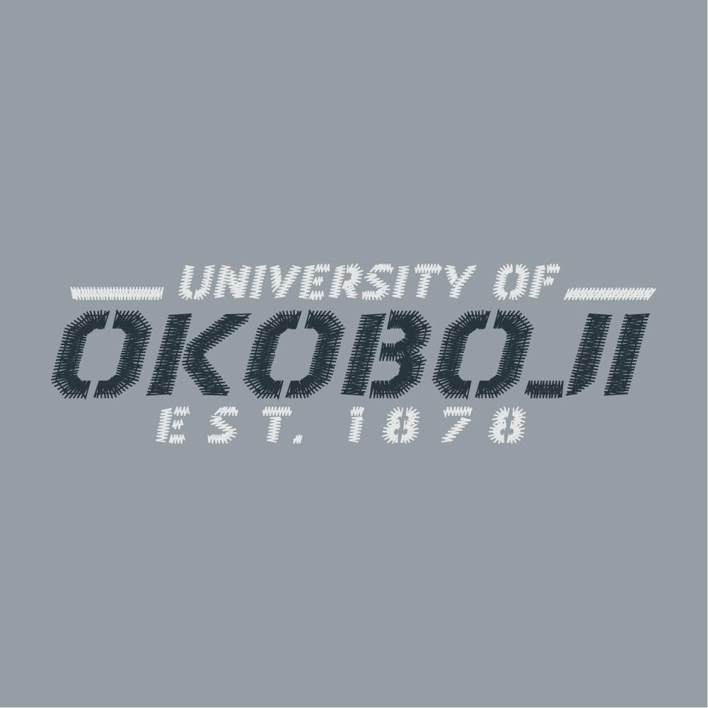 U of Okoboji Lightweight Windbreaker - Stealth Gray