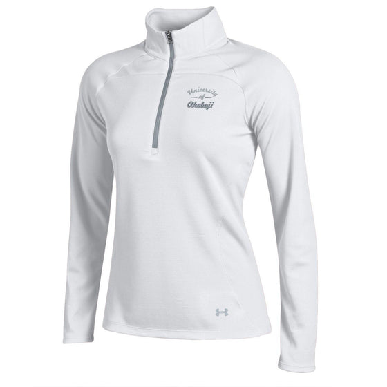 Ladies Under Armour Slice 1/4 Zip - Mock