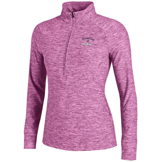 Ladies Under Armour Zinger 1/4 Zip - Verve Violet
