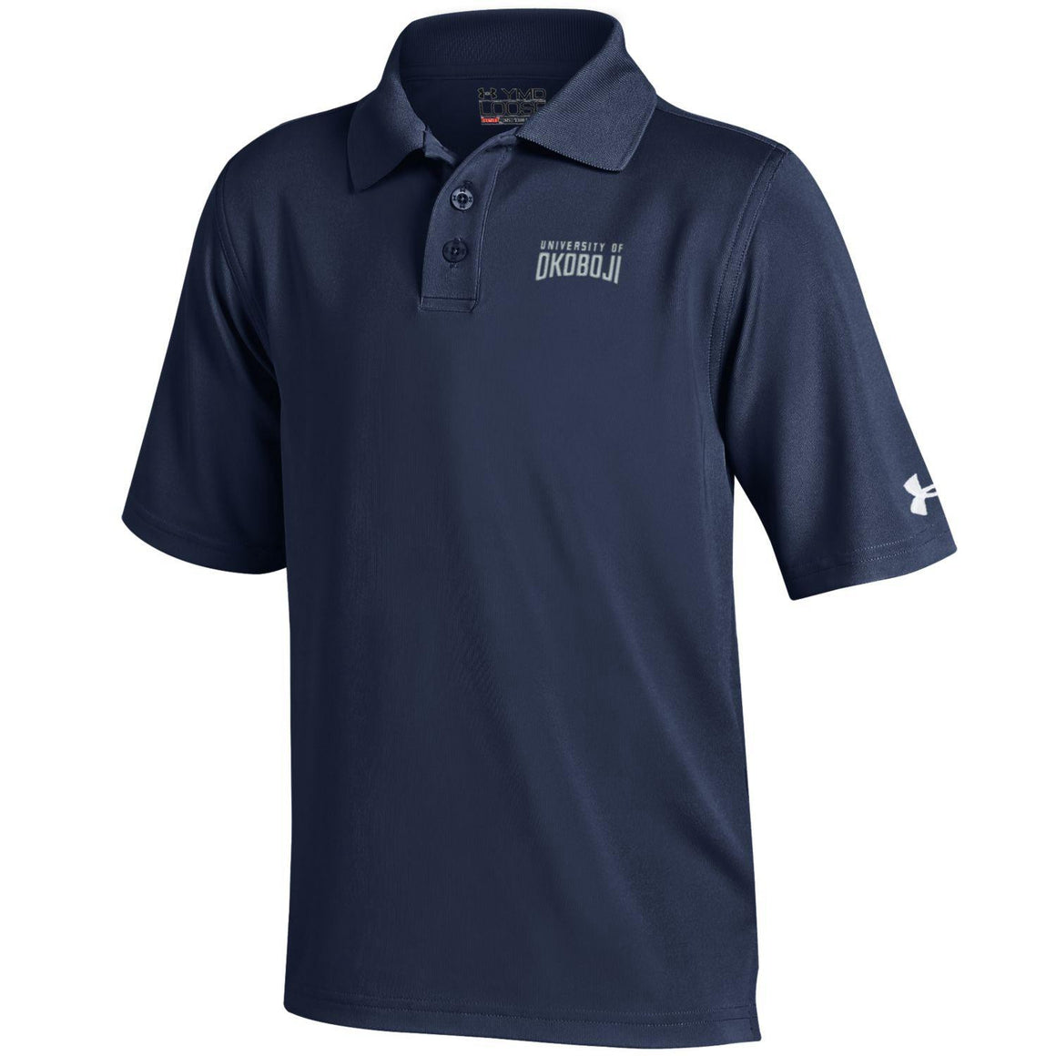 Youth Under Armour Polo Shirt-Navy