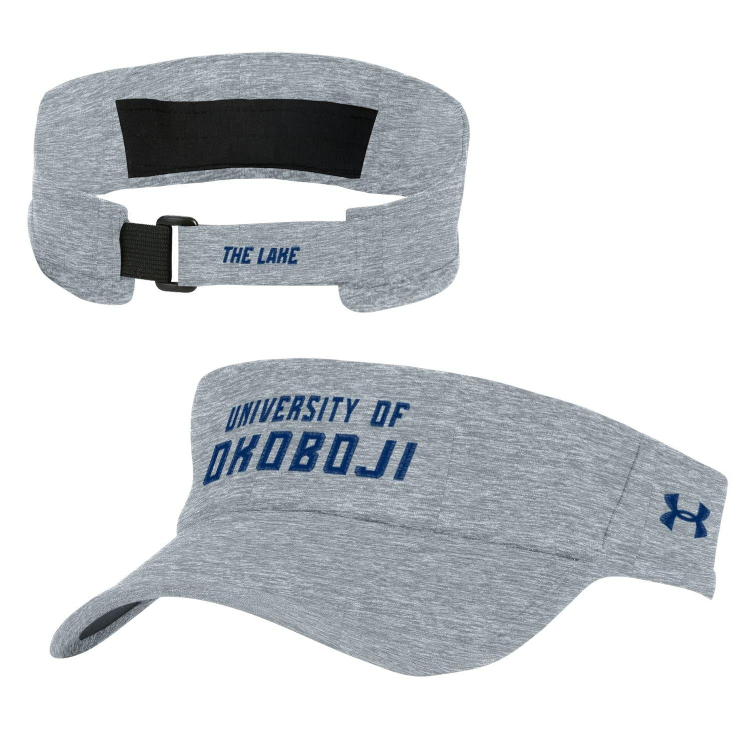 Under Armour Okoboji Closer Visor - Steel Twist