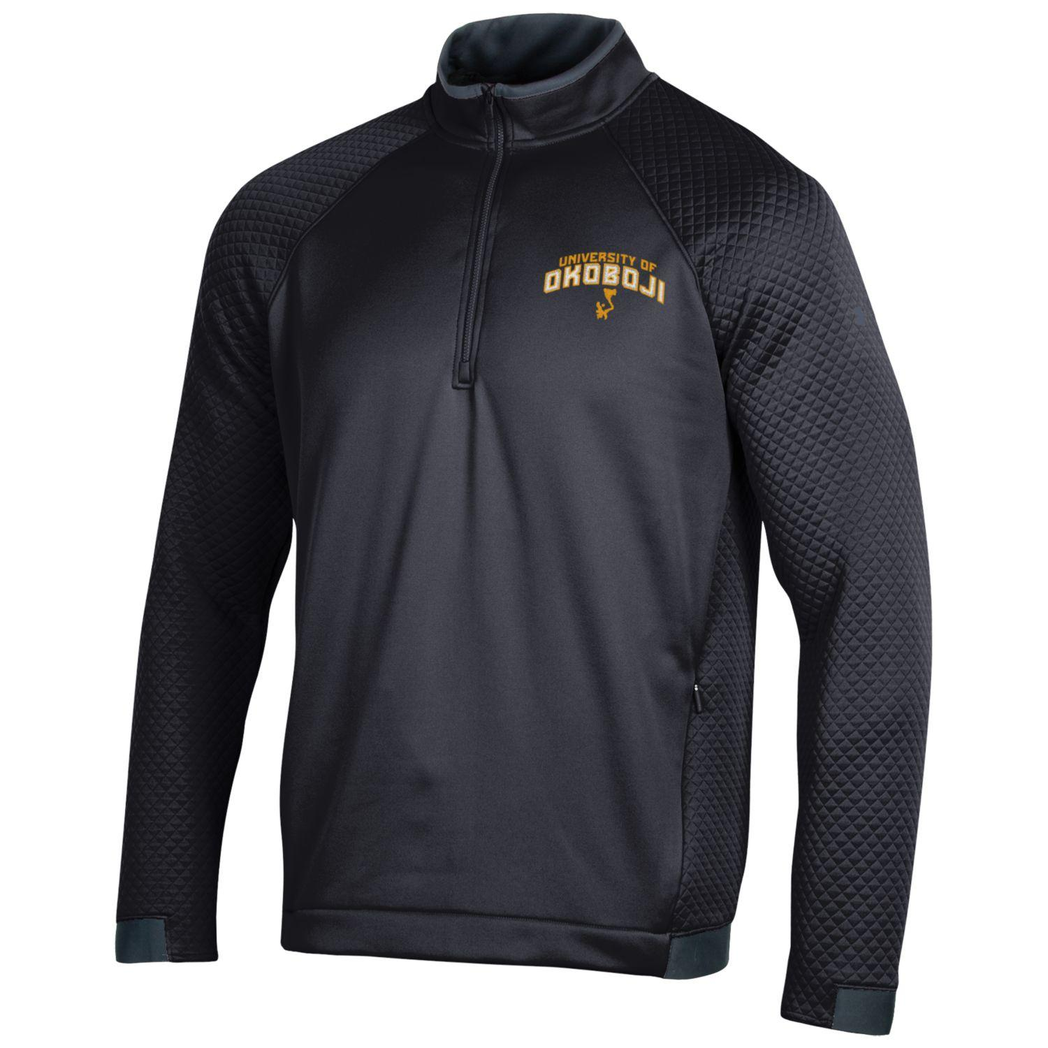 University of Okoboji HD 1/4 Zip - Black
