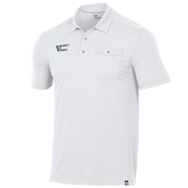 41 Okoboji Charged Cotton Pocket Polo - White
