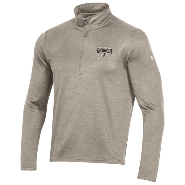 University of Okoboji - Armour Fleece 1/4 Zip - City Khaki
