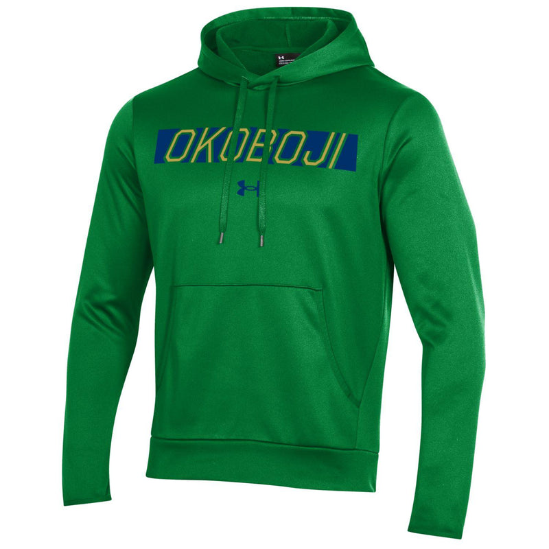 OKOBOJI ARMOUR FLEECE PULLOVER HOOD - Kelly Green