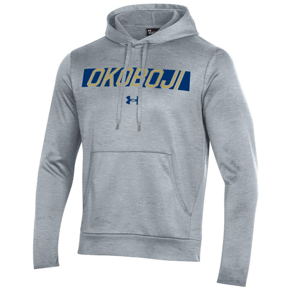 OKOBOJI ARMOUR FLEECE PULLOVER HOOD - Grey