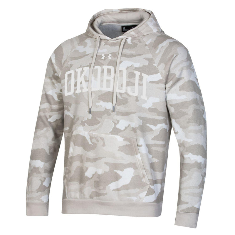 Okoboji Under Armour ALL DAY Camo Hood - Onyx White