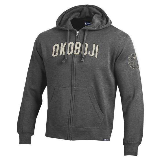 Full-Zip Hooded Okoboji Sweatshirt