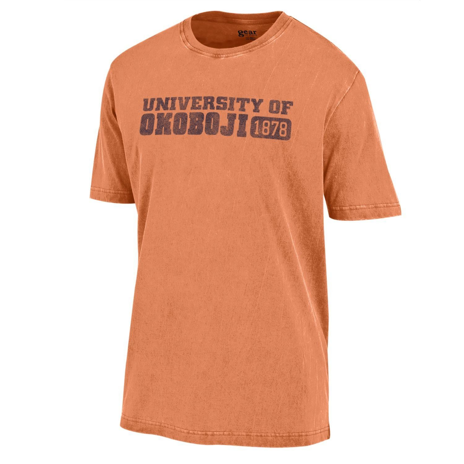U of Okoboji Outta Town Tee - Carrot