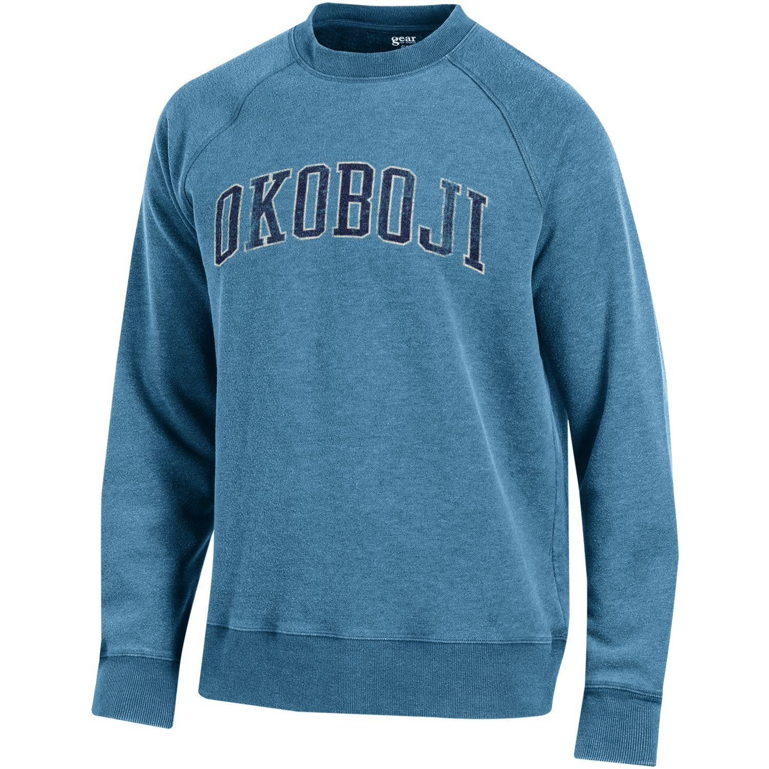 University of Okoboji Campus Crew - Washed Mineral Blue