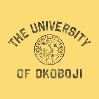 University of Okoboji Standard Issue Hood - Banana Yellow