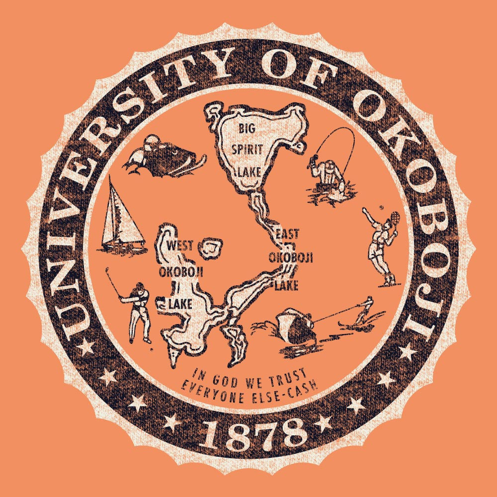 University of Okoboji Campus Crew - Washed Carrot