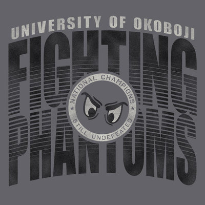 Fighting Phantoms Tri Blend Tee - Gunsmoke Heather