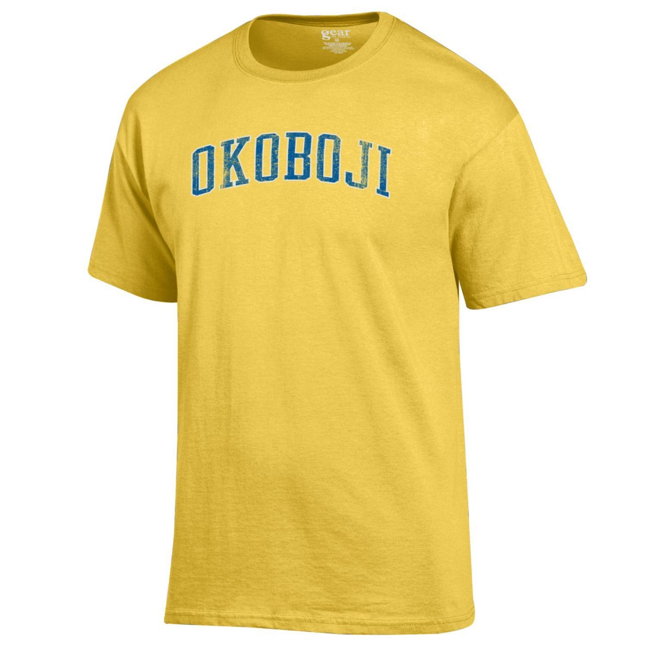 Okoboji Tee - Yellow