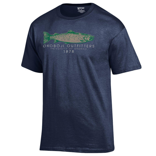 University of Okoboji Outfitters Navy Tee